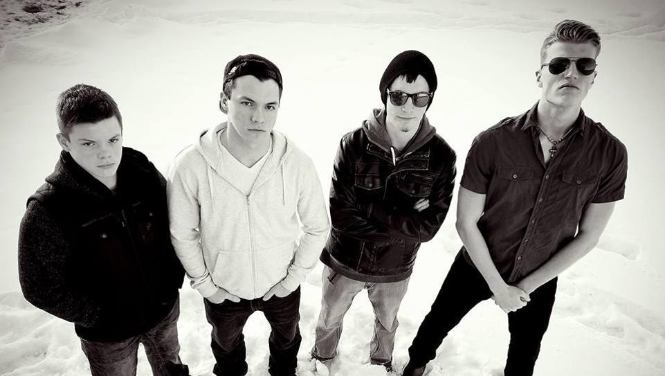 Call of the Awakened, from left, consists of Noah Harrison,