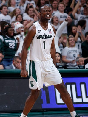 michigan state basketball tops rutgers in ot: 3 quick