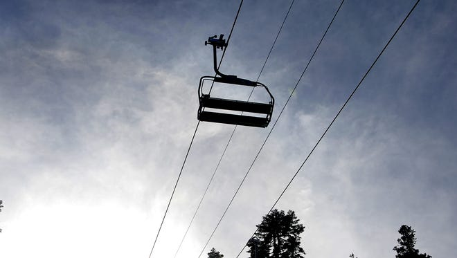 An eight-year-old skier was injured Saturday, Jan. 2 from a fall from a chairlift at Squaw Valley Resort.