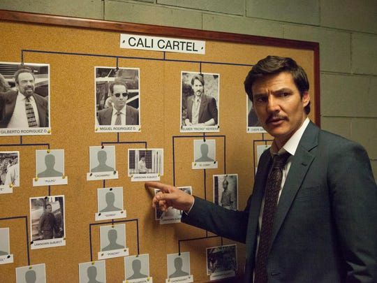 "Actor Pedro Pascal portrayed Javier Peña in the hit Netflix show ""Narcos""."