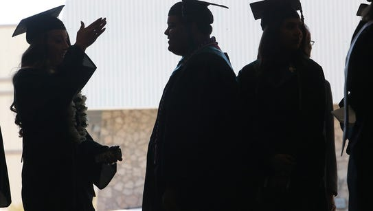 Graduates of the Mission Early College High School