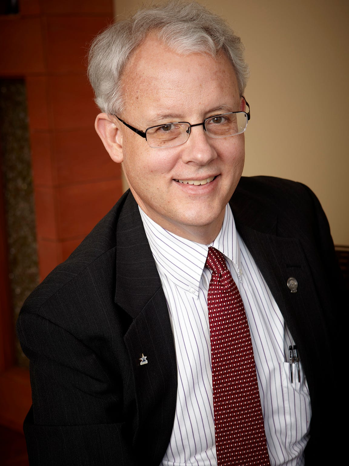 Dr. Michael Miller, past president of the American