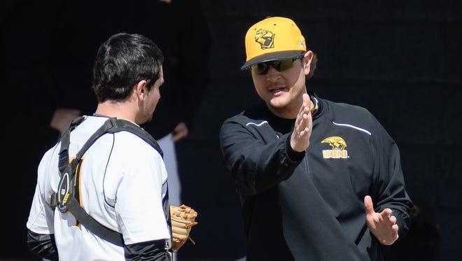 Kevin Tomasiewicz is in his fourth season as head baseball coach at UW-Oshkosh.