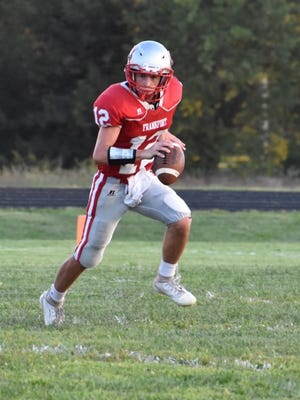 Frankfort's Gavin Cornelison has led his team to the Eight-Man Division II state semifinals, a first for the program since 2003. The Wildcats meet Hanover, which has ended Frankfort's season in the playoffs each of the last two years.