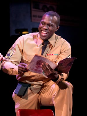 Joshua Henry in a scene from the musical 'Violet.'
