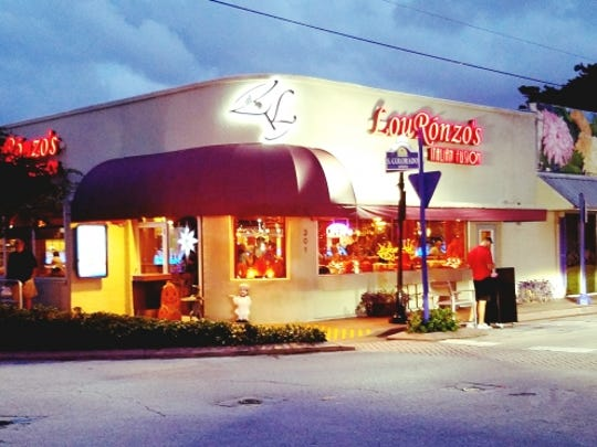 LouRonzo's Italian Fusion is in downtown Stuart.