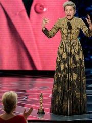 Frances McDormand urges other Oscar-nominated women