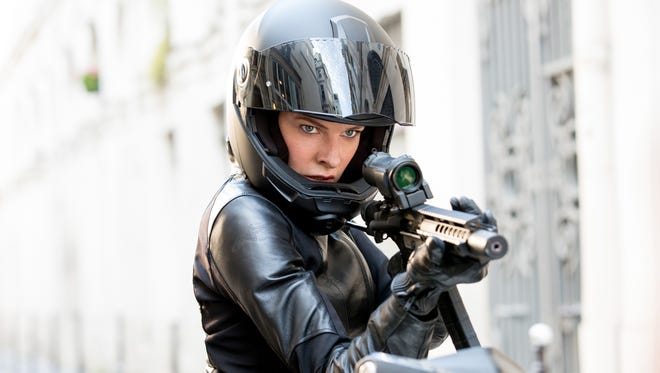 "Rebecca Ferguson plays as Ilsa in ""Mission Impossible - Fallout."""