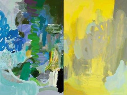 """Bumblebee's Flight Path"" by New York artist Rebecca"