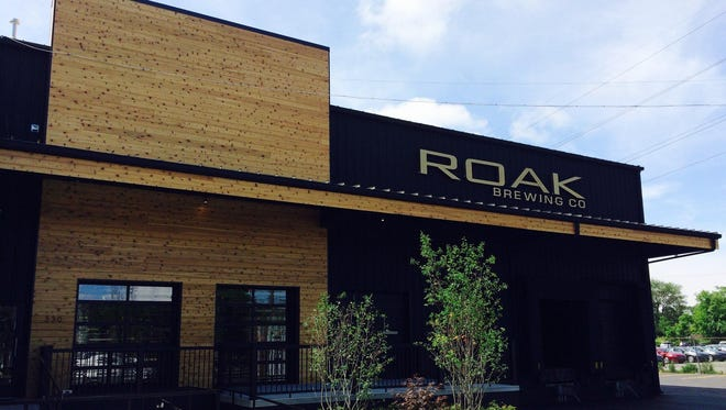 ROAK Brewing Co. operates a taproom out of its brewery in downtown Royal Oak.