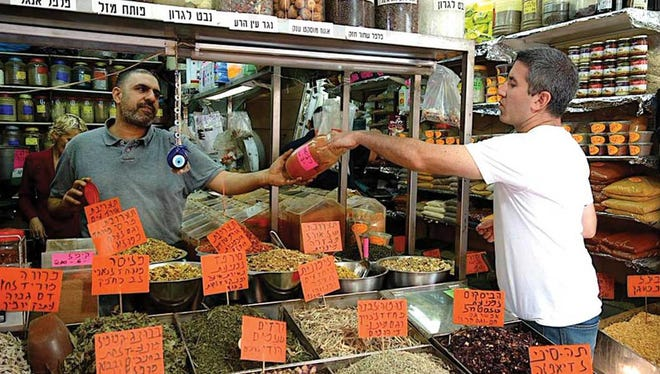 """""""In Search of Israeli Cuisine"""" will be shown next week at Temple Beth El."""