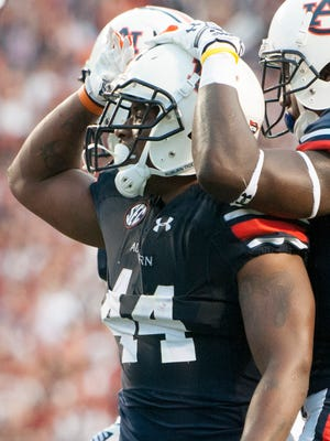 Auburn running back Cameron Artis-Payne has 289 yards and four touchdowns in the first two games of the season.