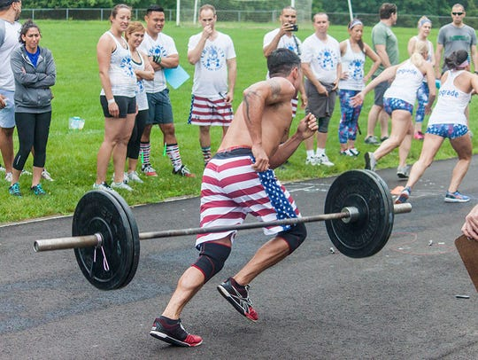 The second annual Branchburg Barbell Bender gets underway