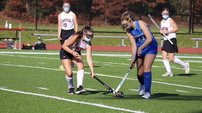 Carver Field Hockey has one win and one lose in the South Shore League's two-loss elimination, round-robin style league tournament.