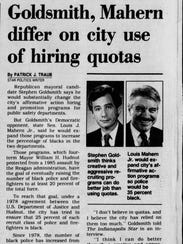 An article from the Oct. 6, 1991, edition of The Indianapolis