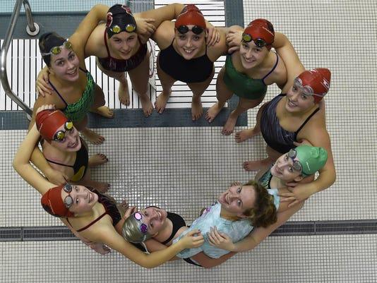 DCA 1102 stbay swim team