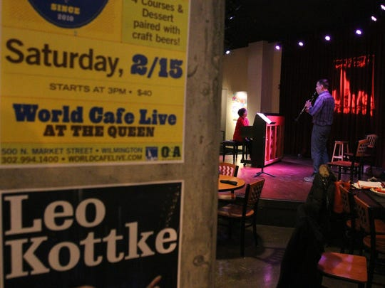"""When World Cafe Live at The Queen was at risk of not meeting employment provisions for $500,000 in grants in loans it received in 2011, the state permitted the theater to count as full-time employees those clocking only 20 hours a week to avoid triggering a """"clawback"""" provision allowing the state to recoup its investment. DEDO also approved a two-year forbearance on principal payments on The Queen's then-$236,000 loan balance, according to meeting minutes."""