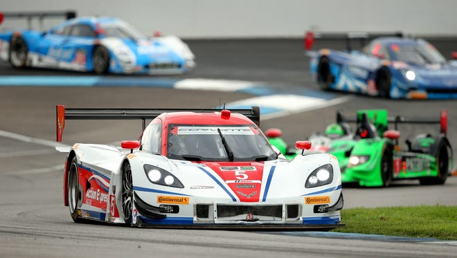 The Friday format apparently doesn't work for IMSA or IMS.