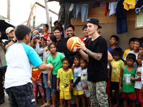 AP Philippines Justin Bieber