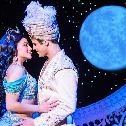 Don't you dare close your eyes! 'Aladdin' is coming to the Aronoff