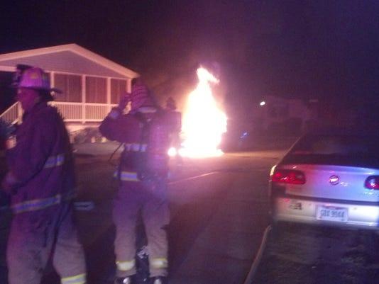 PTC 0827 car fire