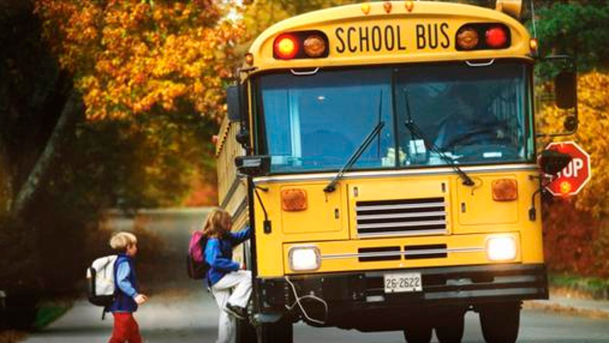 Greenville County Has 15 New School Buses On The Road In 2018