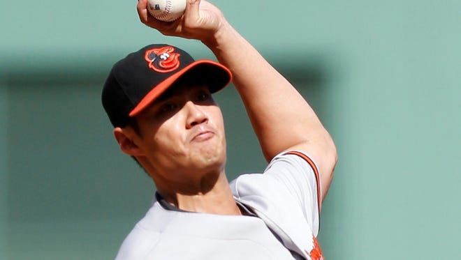 Wei-Yin Chen (15-4) gave up one run and three hits in seven innings.