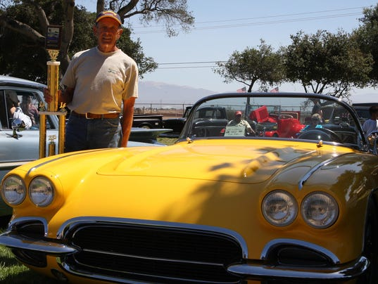 Nick Guzis Corvette Wins Best Of Show - Salinas car show