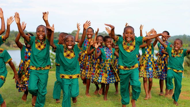 The African Children's Choir will perform two concerts Sunday, one in Palm City and one in Vero Beach.
