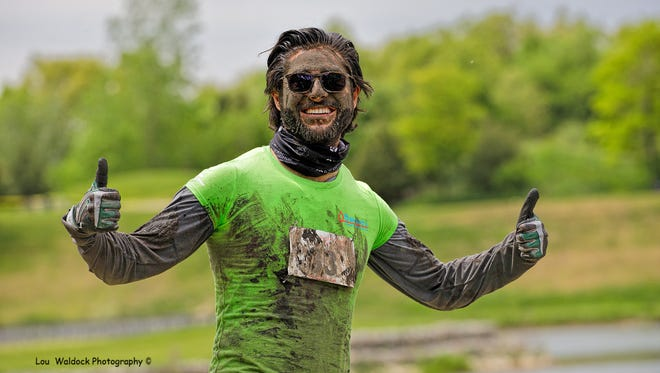 Participants got muddy during the 2017 Dash or Crash event.