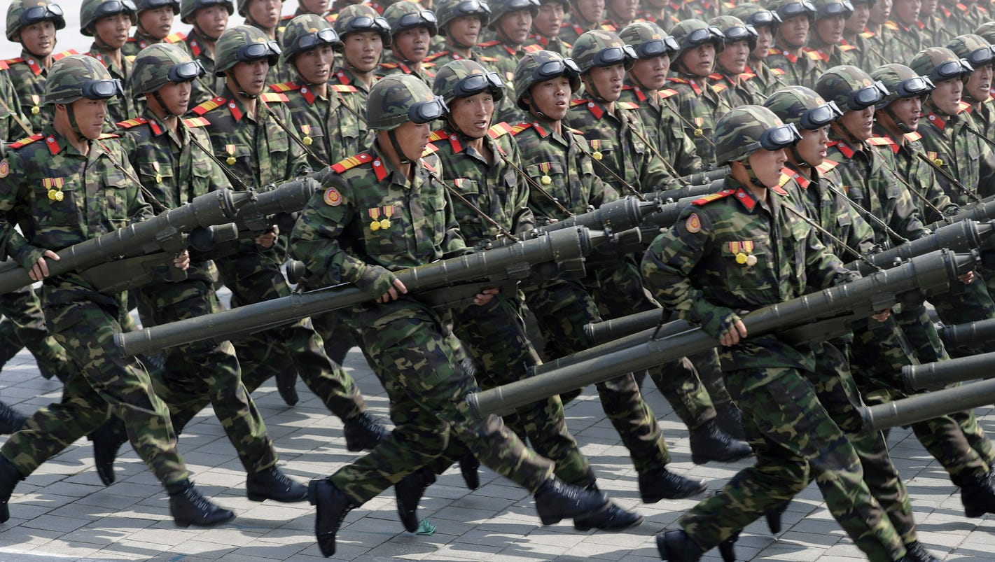 In case of war, North Korean troops 'will fight like tigers,' some to the death
