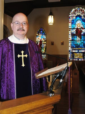 Father David Dingwall, photographed at Saint Paul's By The Sea Episcopal Church in Ocean City , Md., Tuesday, Feb. 23, 2010, died in a fire at the church Tuesday, Nov. 26, 2013.