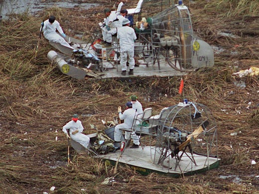 First clues surface in Valujet Flight 592 crash