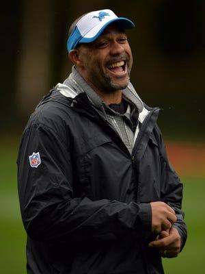Detroit Lions defensive coordinator Teryl Austin.