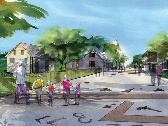 UWF Historic Trust downtown plan.