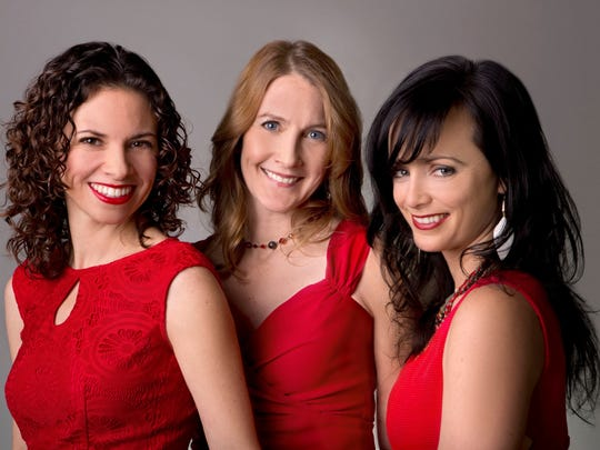 The Barre Opera House welcomes vocal trio Red Molly on Saturday.