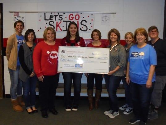 Coshocton Schools donations
