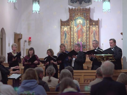 Singers from Musikanten Montana perform in Helena for