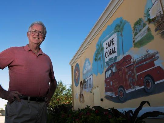 Chris Schroder was a volunteer firefighter in Cape
