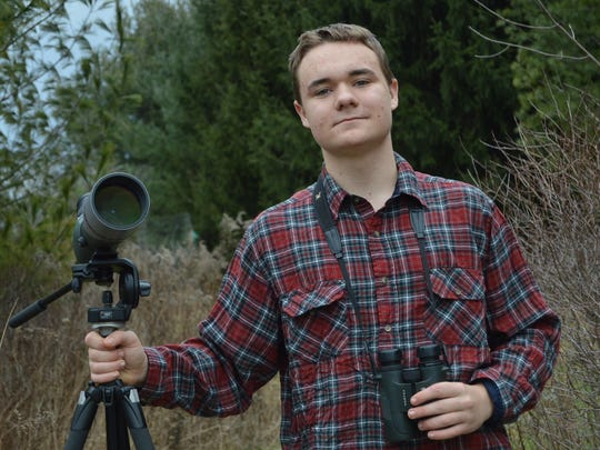 Will Harrod, 17, of Ithaca wants to make a career out of bird conservation.