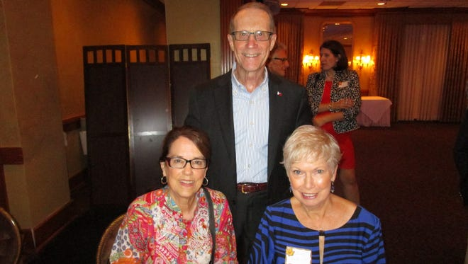 Mary and Warren Perrin and Pam Stroup