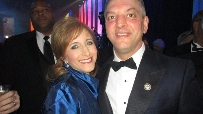 Donna and john Bel Edwards