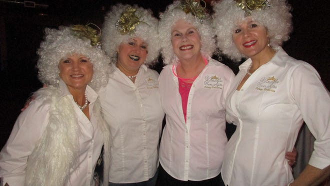 The ladies of the Krewe of Xanadu celebrated 12th Niht at Warehouse 535 on Jan. 2.