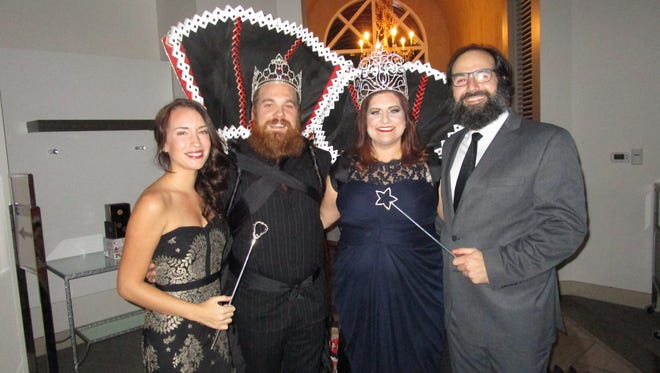 Sonya and Marc Broussard, Ann Falgout and Lucas Broussard