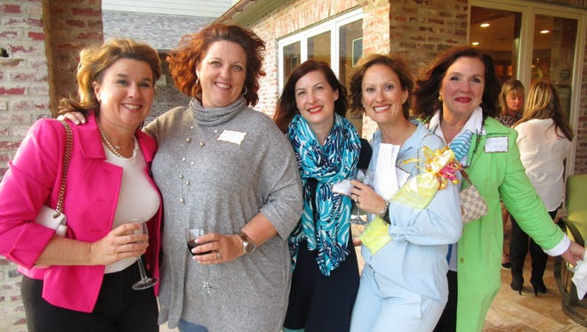 Meg Chase, Renee Hess, Tracy Ralston, Jeannie Patton and Debbie Foreman