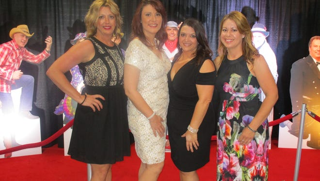 Kelly Brasseaux, Melanie Mimnaugh, Penny Mimnaugh and Jennifer Mire