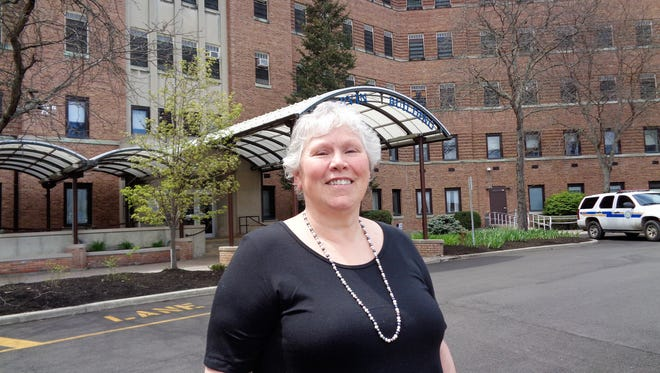 Joyce Reed is one of the volunteers at the Greater Binghamton Health Center.