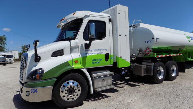 Shipley Energy already has some CNG-powered trucks in its fleet.