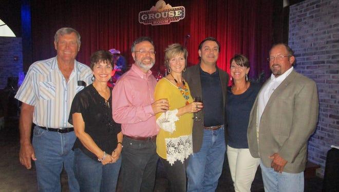 Ralph and Jill Jordan, Bruce and Tracy Chiasson, Matt Chiasson, Gay Hopkins and Robert Mitchell