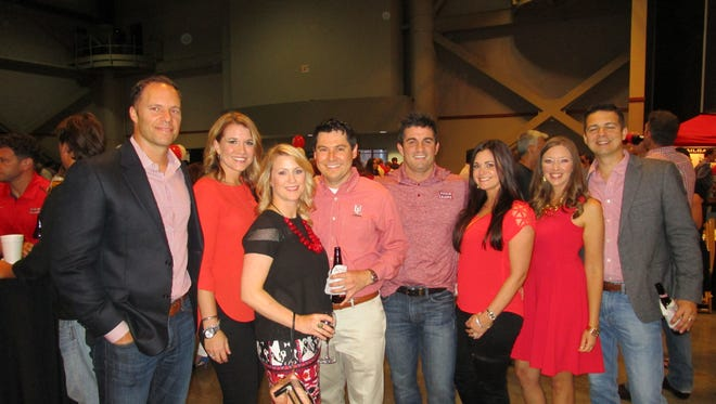 Paul and Ashley Hebert, Kelly and Chris Broussard, Robbie and Heather Breaux and Tracey and Brent Lassere